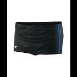 CCAC: Speedo Mesh Poly Square Leg Drag Suit - Black w/blue and LOGO