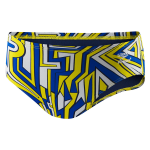 CSAS: Speedo Conquers All Brief (Navy/Gold)