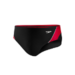 Cabell Midland: Speedo Launch Splice Brief - Blk/Red w/LOGO