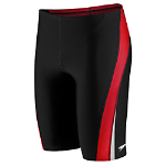 Cabell Midland: Speedo Launch Splice Jammer -Blk/Red w/LOGO