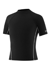 Speedo Kids Rash Guard with Front Piping