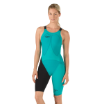 LZR Elite 2 Comfort Strap Open Back Kneeskin - Jewel Green