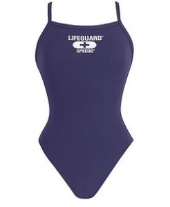 Speedo Thin-Strap One-Piece Lifeguard Suit