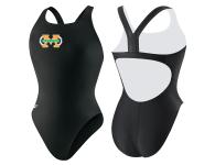 Machine Aquatics Lycra Thick Strap Suit w/Logo