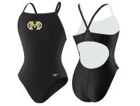 Machine Aquatics Lycra Thin Strap Suit w/Logo