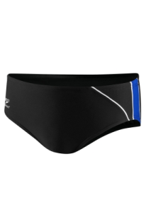 CCAC Male Team Brief: Mercury Spliced Brief - Black/Blue