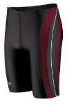 Tennessee High Male Team Suit: Rapid Splice Jammer - Maroon with LOGO