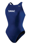 SMAC Female Suit: Speedo Aquablade Recordbreaker Navy w/LOGO
