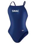 SMAC Lycra Female Flyback-Navy w/logo