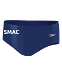 SMAC: Solid Endurance Poly Brief - Navy w/LOGO