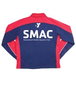 SMAC: Speedo Streamline Jacket Female - Navy/Red w/Logo