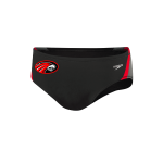 Signal Mountain Male Brief Quark Splice W/Logo (Black/Red)
