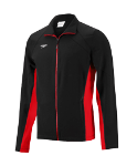 Signal Mountain Female Team Warmup Jacket - Speedo Boom Force - Black/Red