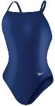 HYCAT Female Suit Solid Lycra Speedo Flyback-Navy