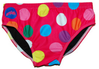 Pink Polka Dot Brief