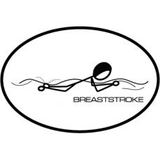 Breaststroke Decal