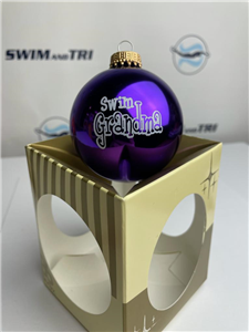 Swim Grandma Ornament