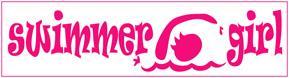 Swimmer Girl Bumper Sticker