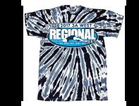 2017 3A West Regional Tie-Dye Tee