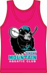 SMAC Banjo Bear Pink Tank