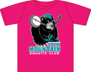 SMAC Banjo Bear Pink Tee