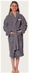 TBAY Youth Fleece Bath Robe w/Logo