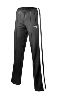 Hendersonville Female Team Warm-up Pant: TYR Freestyle Pants- Black