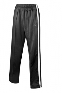 Hendersonville Male Team Warm-up Pant: TYR Freestyle Male pants - Black