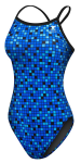 Team Check Diamondfit Swimsuit
