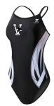 Vicksburg Swim Association - Female Thin Strap Suit W/logo