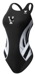 Vicksburg Swim Association - Female Thick Strap Suit w/logo