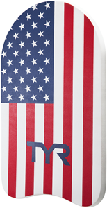 TYR USA Classic Adult Kickboard and USA Pull Float Add-On