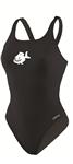 WNCY Female Thick Strap Suit w/Logo