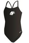 WNCY Female Thin Strap Suit w/Logo
