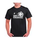 WNCY Piranhas Black Team T-Shirt