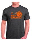 WNCY Piranhas Dark Heather Team T-Shirt