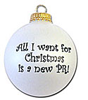 All I want for Christmas is a new PR holiday ornament
