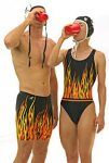 Flames Female Suit