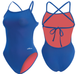 SwimAndTri  Dolfin Bellas Tie Back Solid (2631TB) 07864b4461
