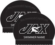 2x JAX Personalized Silicone Caps