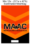 MAAC Mesh Equipment Bag