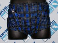 Plaid Mesh Drag Suit