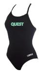 Quest Female Thin Strap Suit w/Logo