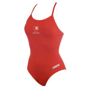 Baylor Swim Club Thin Strap Suit w/Logo