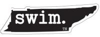 Swim Tennessee Magnet