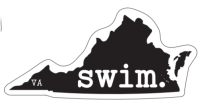 Swim Virginia Magnet
