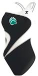 Brevard Bearacudas Female Thickstrap Suit w/ Logo