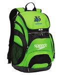 Broadstone Barracudas 35L Green Backpack w/Logo