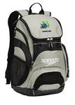 Broadstone Barracudas 35L Grey Backpack w/Logo