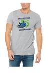 Broadstone Barracudas Grey T-Shirt with Full B Logo